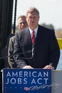 Agriculture Secretary Tom Vilsack visit to Port of West Sacramento